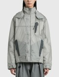Hyein Seo Transparent Padded Jacket 사진