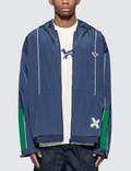 Maison Kitsune Ader Error x Maison Kitsune Tetris Fox Zip-Up Jacket Picture