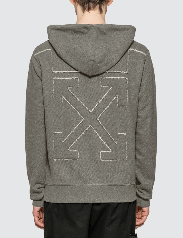 Off-White Embroidered Arrows Hoodie