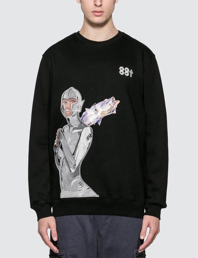 88rising 88rising x Sorayama Robot Embroidered AR Sweatshirt
