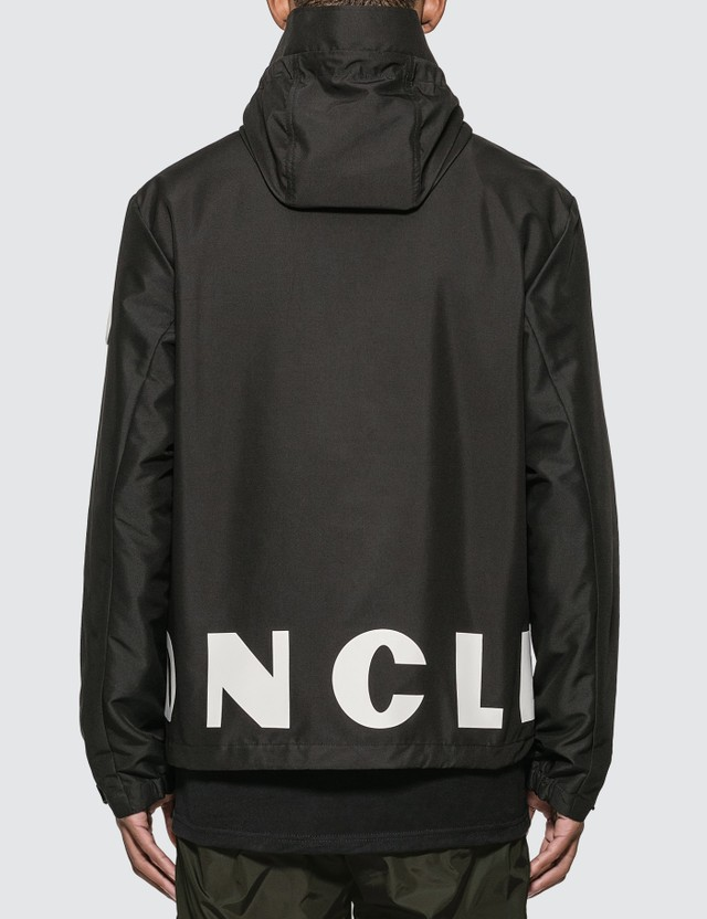 Moncler Lightweight Graphic Printed Jacket