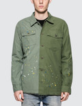 John Elliott Distorted Military Shirt Picture