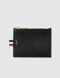 Thom Browne Small Coin Purse (14.5 cm) In Pebble Grain Picture