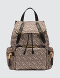 Burberry The Medium Rucksack in Monogram Print Nylon Picture