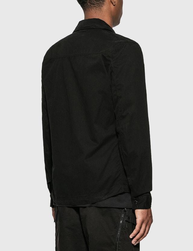 CP Company Nylon Shirt Jacket Black Men
