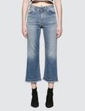 Fiorucci Viva Cropped Kick Flare Jeans Picture