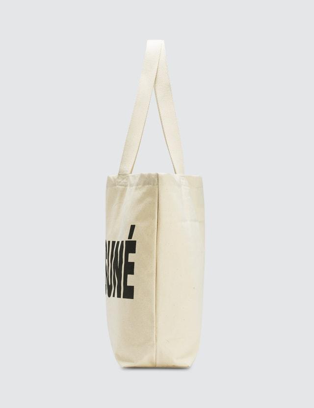 Maison Kitsune NBA Tote Bag