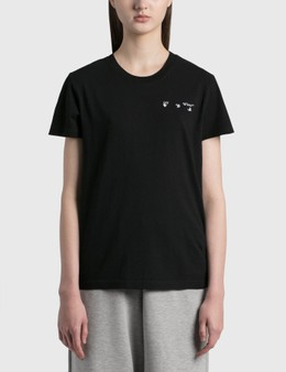 Off-White Arrow Liquid Melt Casual T-shirt
