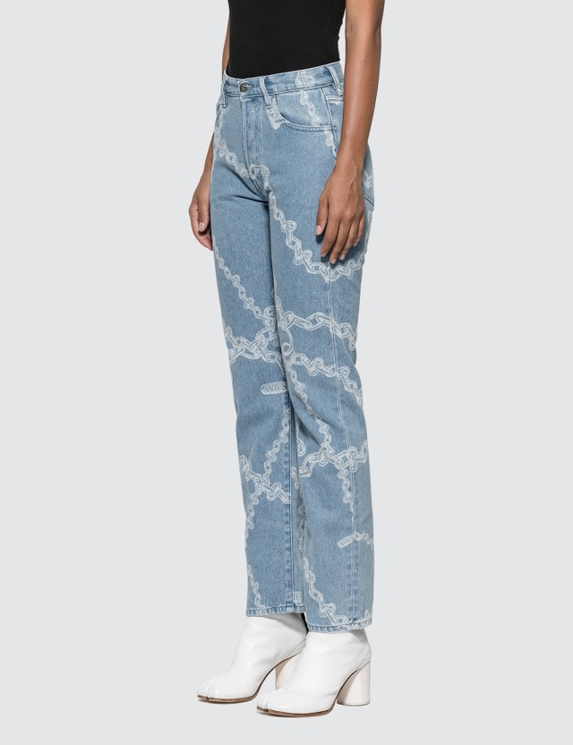 Aries Lilly Chain Print Jeans