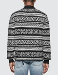 Versace Knit Jacquard Sweater