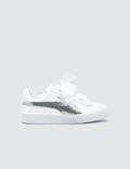 Puma Basket Heart Bling Pre-School 사진