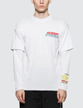 GCDS Double Sleeve Fluo T-Shirt Picture