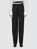 Helmut Lang High Waist Relaced Wool Pant Picture