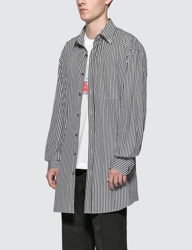 Maison Margiela Oversized Striped Shirt