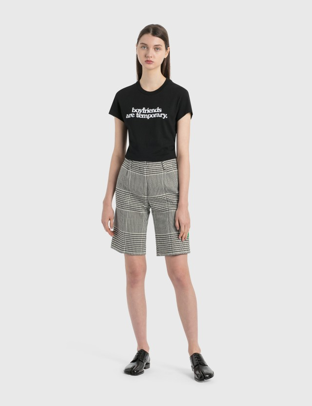Off-White Houndstooth Formal Shorts
