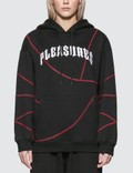 Pleasures Destroyer Contrast Stitch Hoodie Picutre