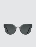 Super By Retrosuperfuture Era Black Sunglasses Picture