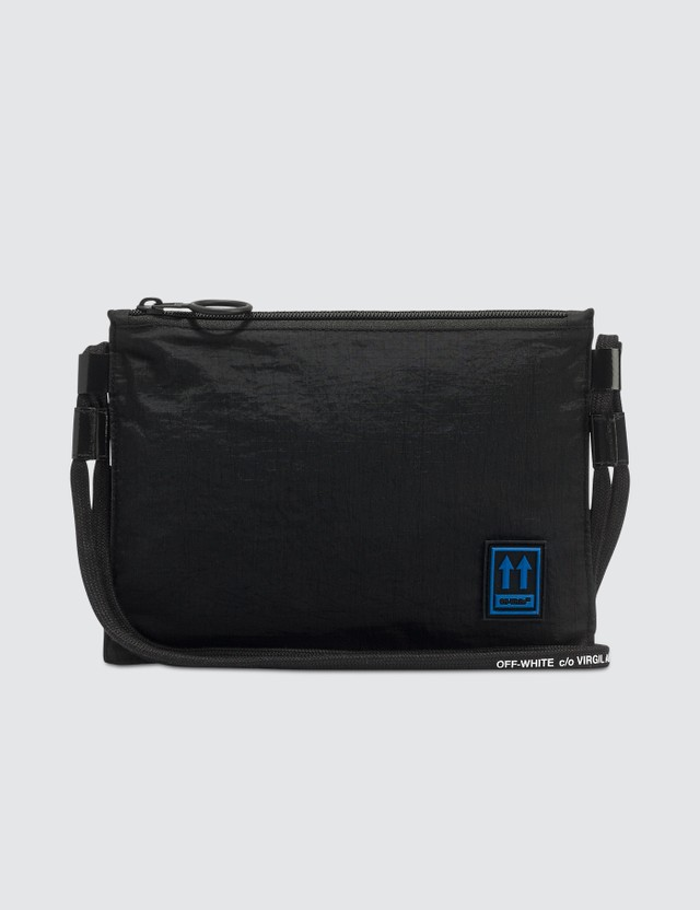Off-White Flat Cross Body Bag