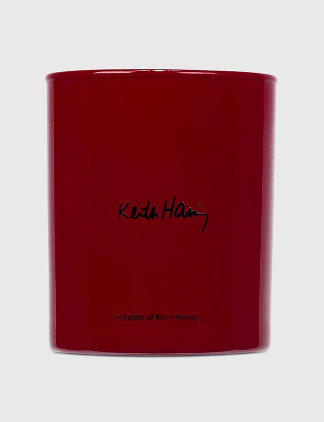 Ligne Blanche Keith Haring Red Running Heart Perfumed Candle