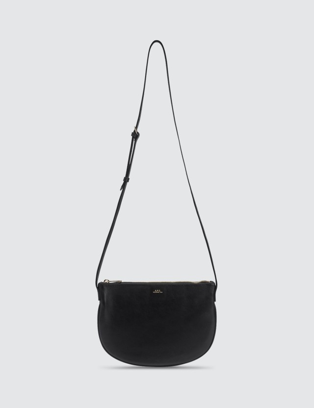 A.P.C. Maelys Leather Crossbody Bag