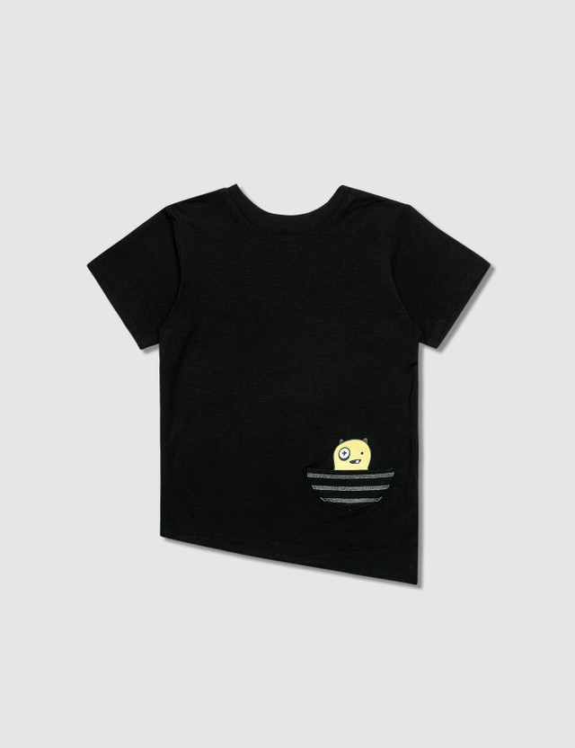 Bash+Sass Asymmetric T-Shirt Black Boys