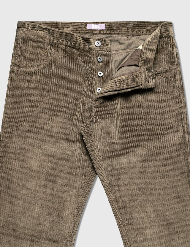 ERL Corduroy Pants Brown Men