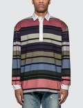 JW Anderson Striped Rugby Jersey Long Sleeve Polo Shirt Picture