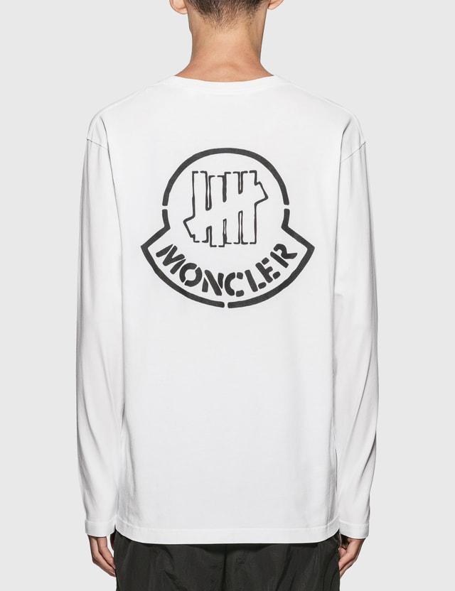 Moncler Genius 1952 x UNDEFEATED Logo Long Sleeve T-Shirt White Men