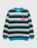 Palace Skateboards Palace Ribbed For Pleasure Crewneck 사진