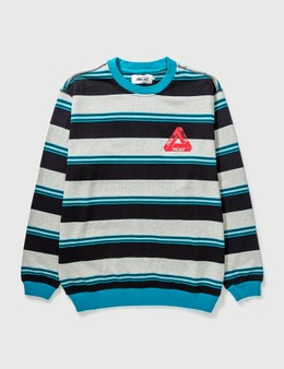 Palace Skateboards Palace Ribbed For Pleasure Crewneck