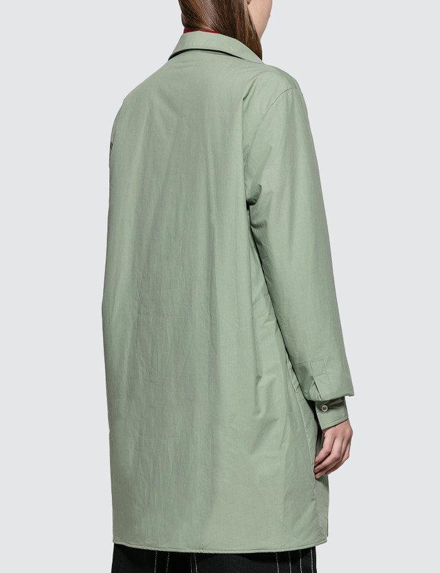 Aalto Lightly Padded Oversized Shirt With Slits