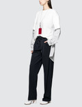 Maison Margiela Pleated Stretch-Canvas Pants