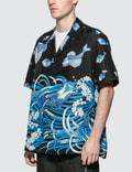 Valentino Fishrain Shirt Stampa Pesce Men