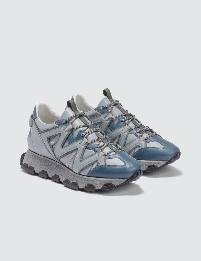 Lanvin Lightning Sneaker Blue / Grey Men