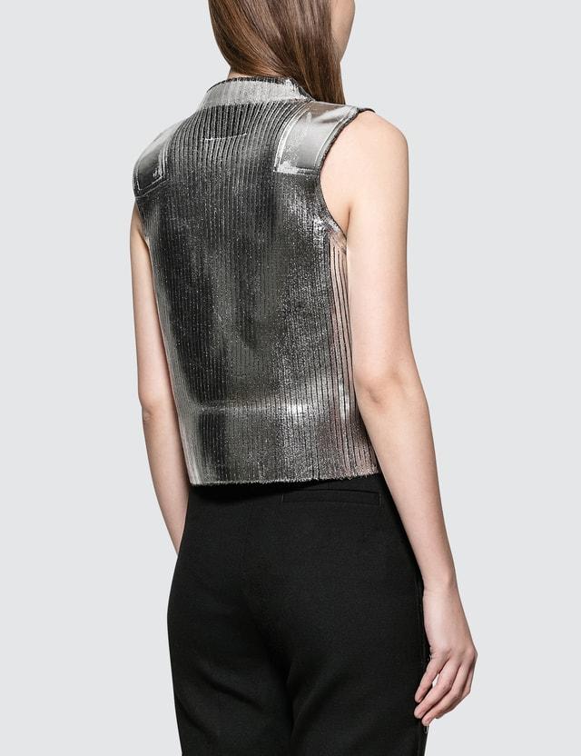 MM6 Maison Margiela Patched Knit Vest