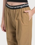 Alexander Wang.T Pull-on Pleated Pants Tobacco Women