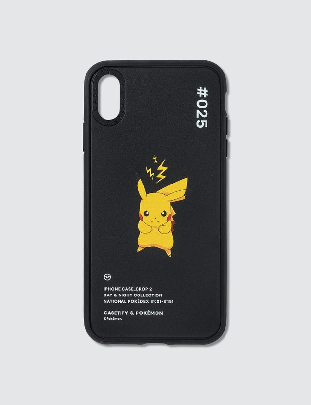 Casetify Pikachu 025 Pokédex Night Iphone XS Max Case