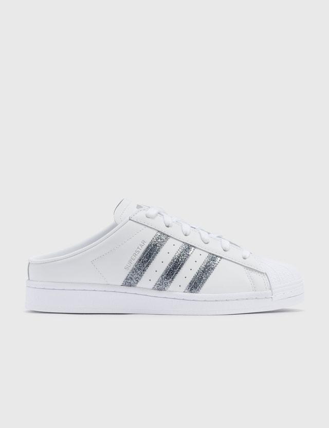 Adidas Originals Superstar Mules Ftwr White/supplier Colour/silver Met. Women