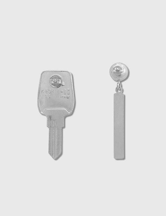 Marine Serre Keys Earrings