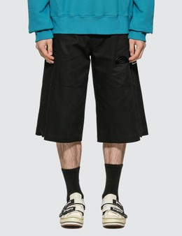 Palm Angels Side Tape Shorts