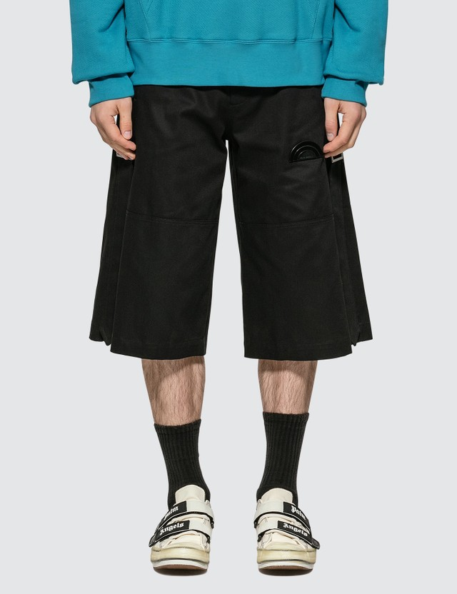 Palm Angels Side Tape Shorts =e61 Men