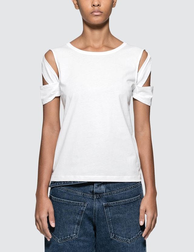 Helmut Lang Bondage Short Sleeve T-shirt