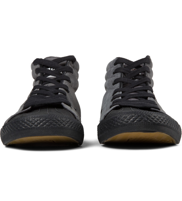VISION STREET WEAR Charcoal Suede Hi Shoes