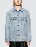 Alexander Wang.T Daze Bleach Denim Jacket Picutre