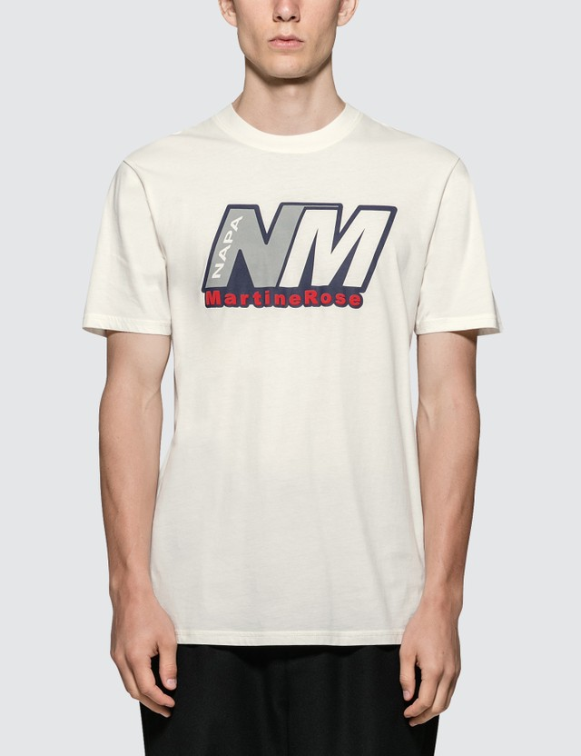 Napapijri x Martine Rose Logo S/S T-Shirt White Men