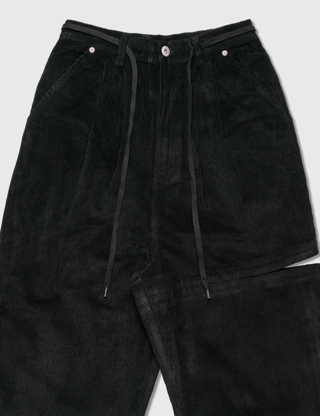 Perks and Mini U.G. Bri Bri Corduroy Pants Black Men