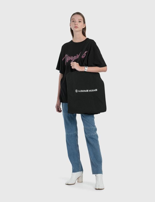 MM6 Maison Margiela Margiela 6 Neon Logo T-Shirt