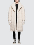 SJYP Sherpa Long Coat With Gloves Picture