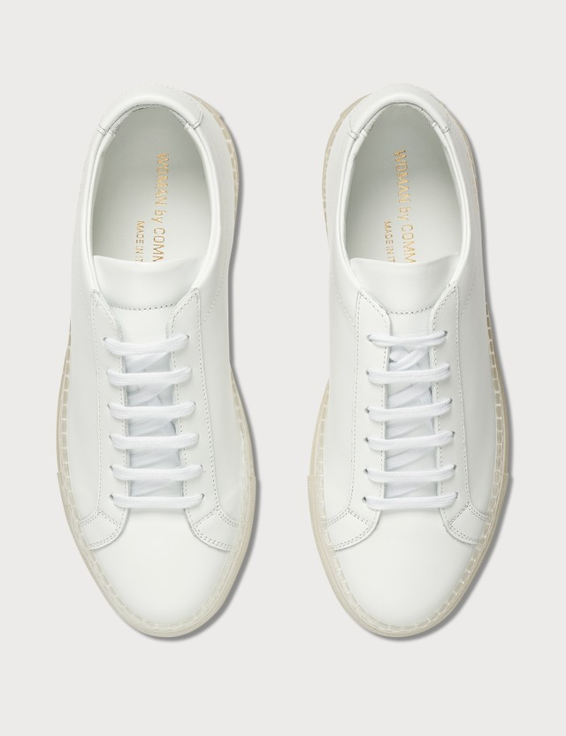 Common Projects Original Achilles Low In Transparent Sole