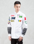 MOSCHINO Multi Logo Print L/S Shirt Picture